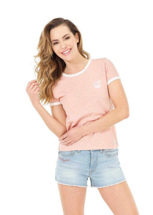 tshirt femme rose picture