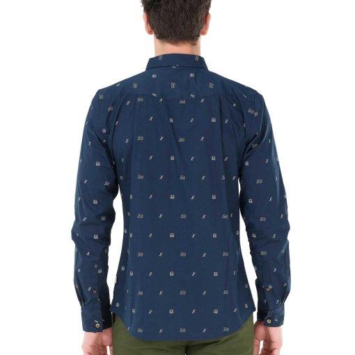 chemise picture homme bleu marine