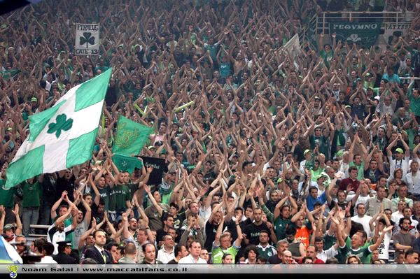 La folle passion des fans du Panathinaikos