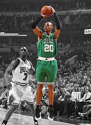 Ray Allen shoot