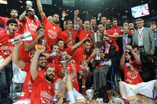 Olympiakos euroleague 2012