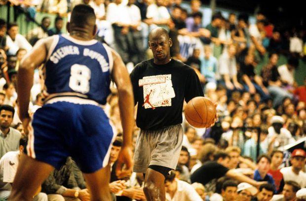 Michael Jordan à Paris