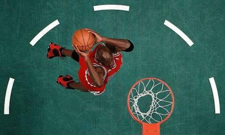 Photos : La NBA vue d'en haut
