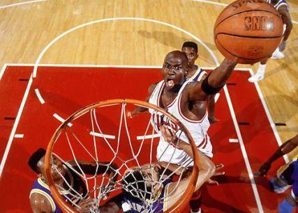 Jordan lakers 1991