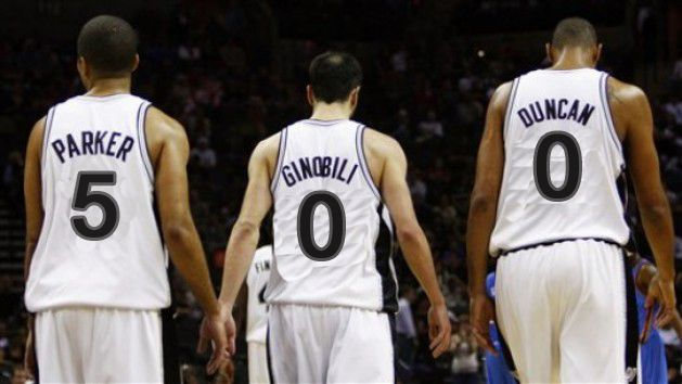 Le big three des Spurs passe la barre des 500