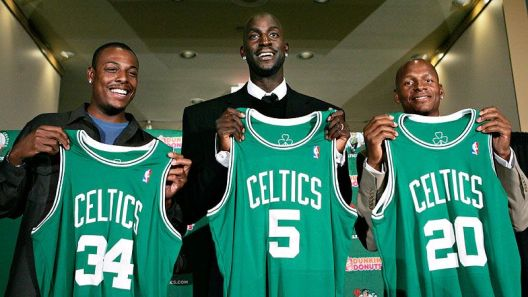Le Big three des Celtics