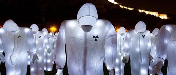LUX! Le temps fort - Radioactive Control - Luzinterruptus (c) Sophie Cousin