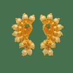 Pearl and Emerald Fancy Earrings