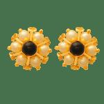 Fancy Earrings with Pearl
