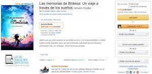 imagen amazon las memorias de Brileisa