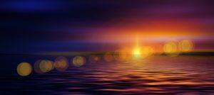 puesta de sol pixabay la guía de la vida