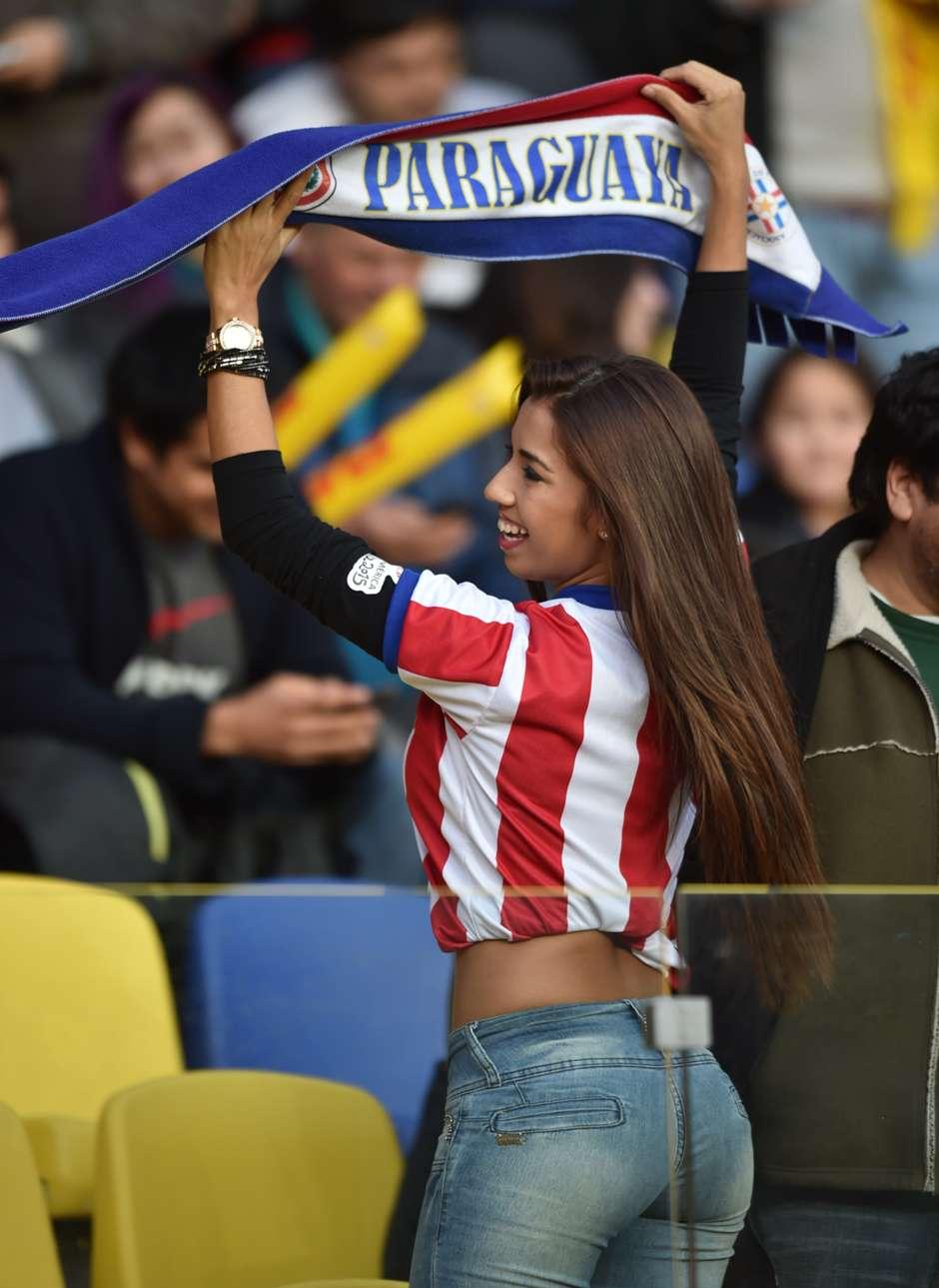 Las 11 mujeres mas hermosas de la copa amrica chile 2015