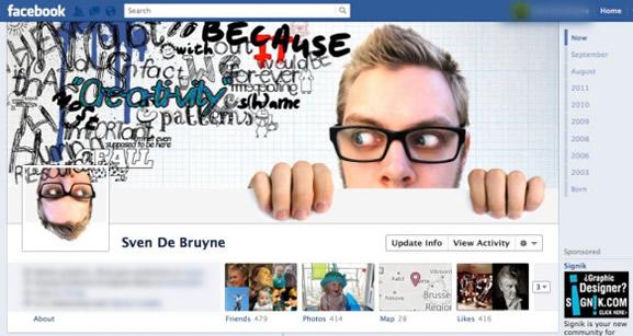 Portadas de Facebook creativas