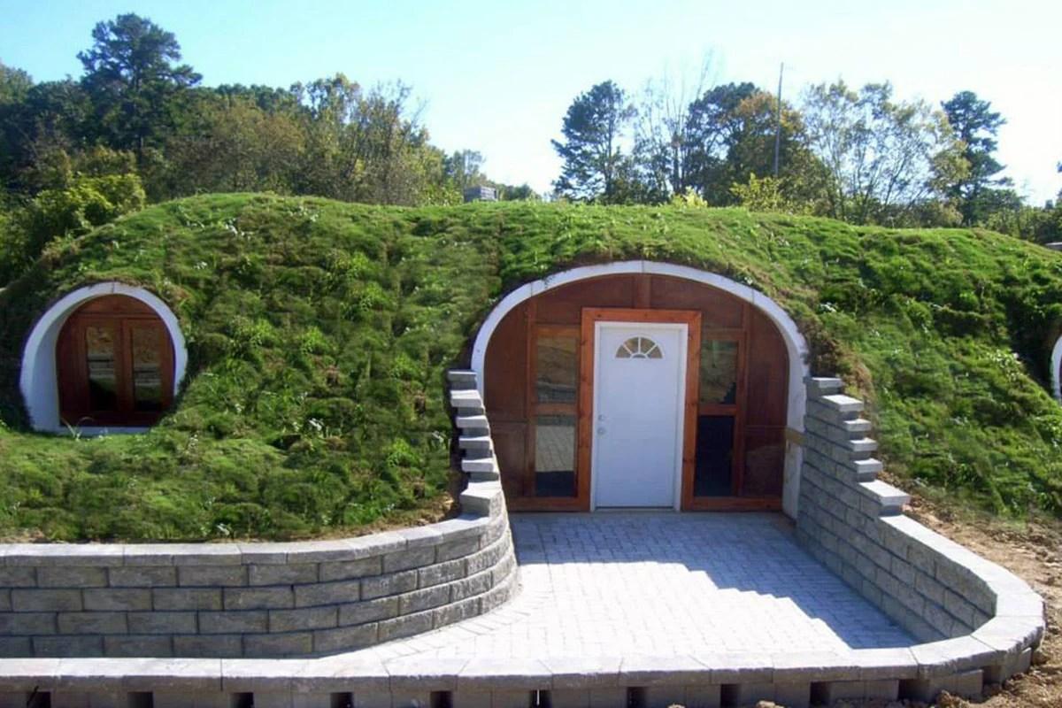 Construyen casa tipo Hobbit que son ecolgicas y econmicas