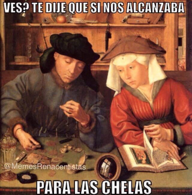 Descubre los mejores memes hechos con pinturas renacentistas