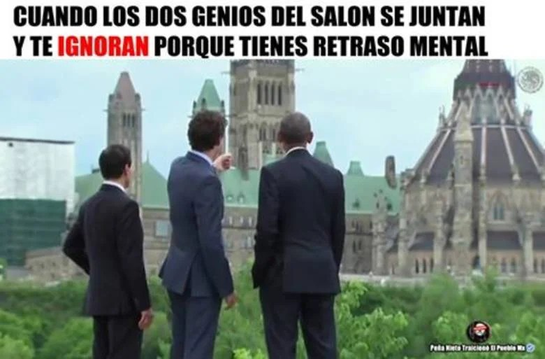 Visita de Pea a Canad desata una serie de memes divertidos