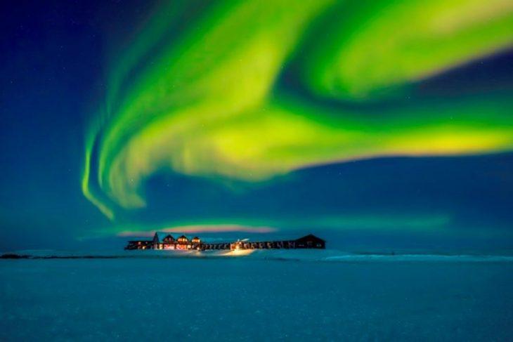 luces norte islandia