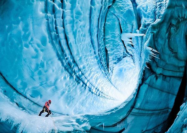 cuevas glaciar