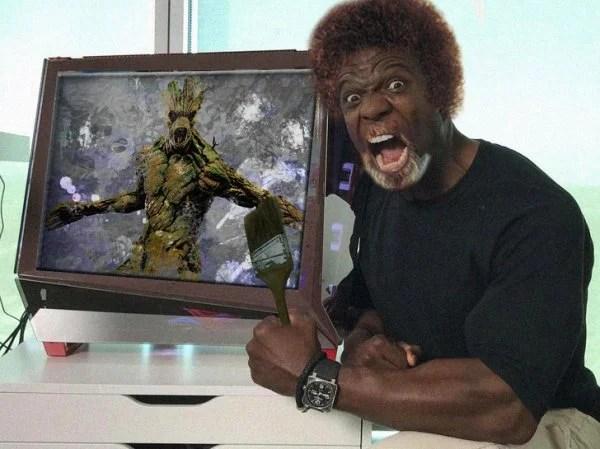 Photoshopearon a Terry Crews y el resultado es muy gracioso