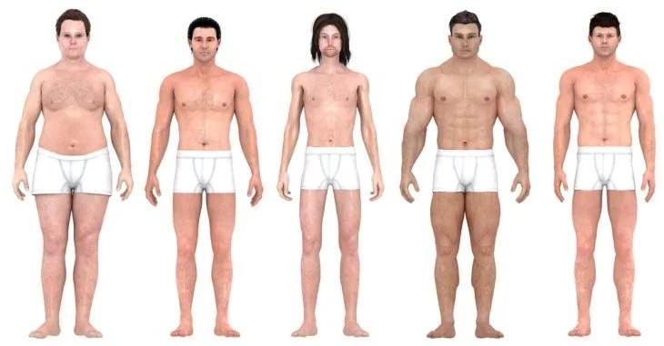 Cambios en la anatomía masculina