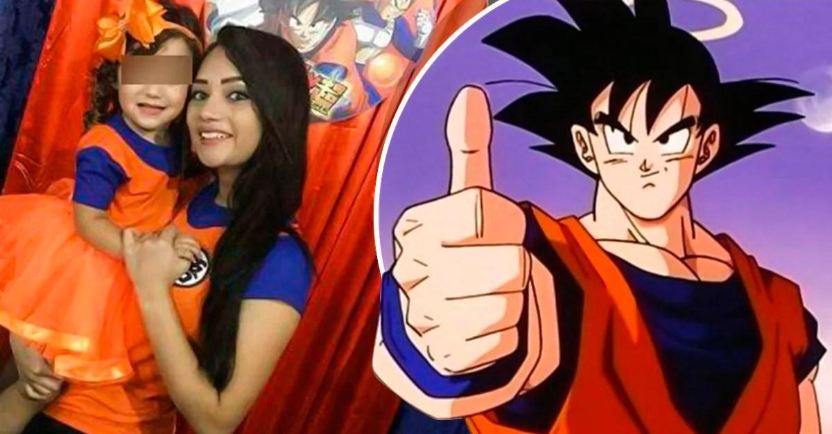 Nia hace fiesta de cumpleaos de Dragon Ball se hace viral