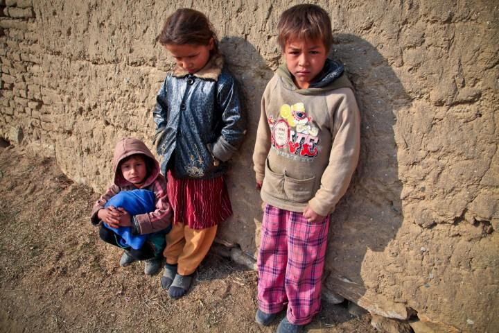 Niños pobres
