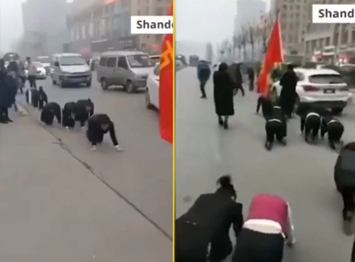 cosas bizarras en China empleados