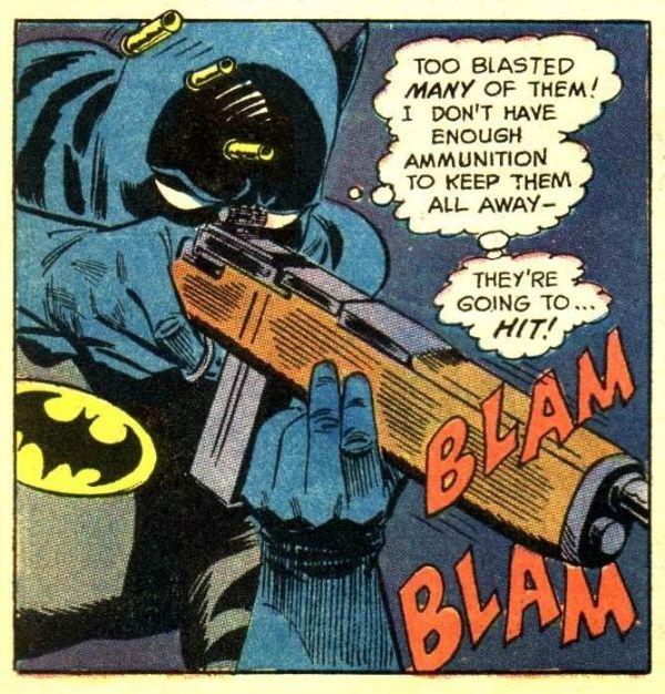batman usa pistoalas
