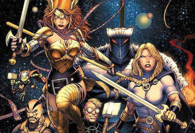 Marvel cómics fase 4 asgardianos de la galaxia