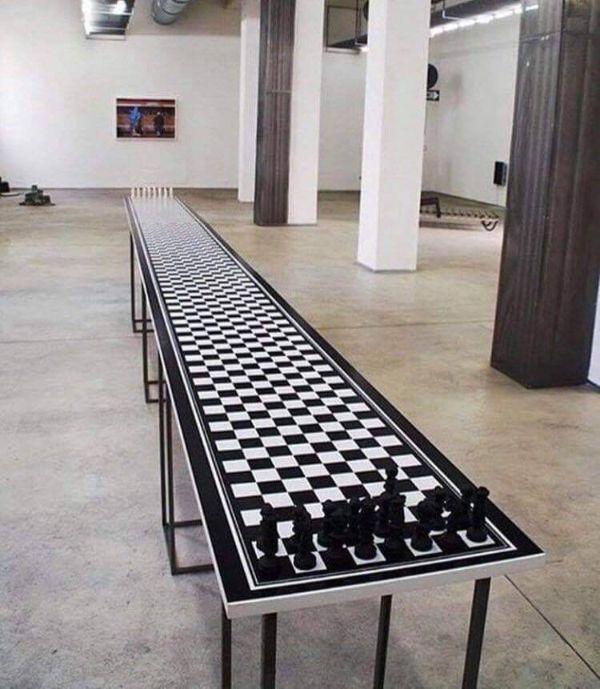 Imágenes raras sin explicación ajedrez