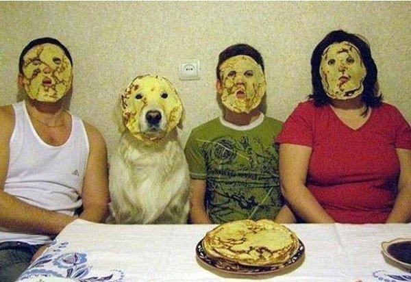 Imágenes raras sin explicación máscaras