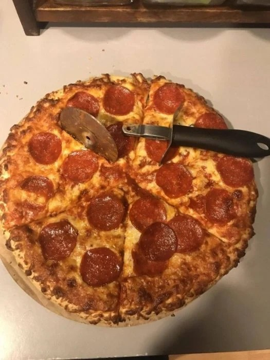 Mal día pizza