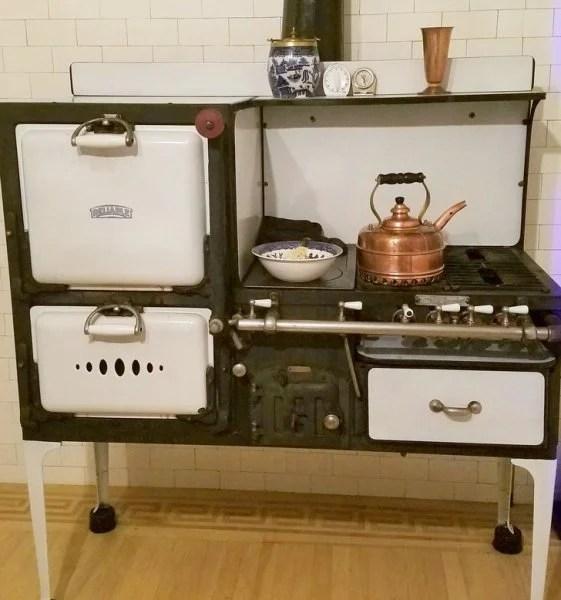 Objetos antiguos que aún sirven estufa