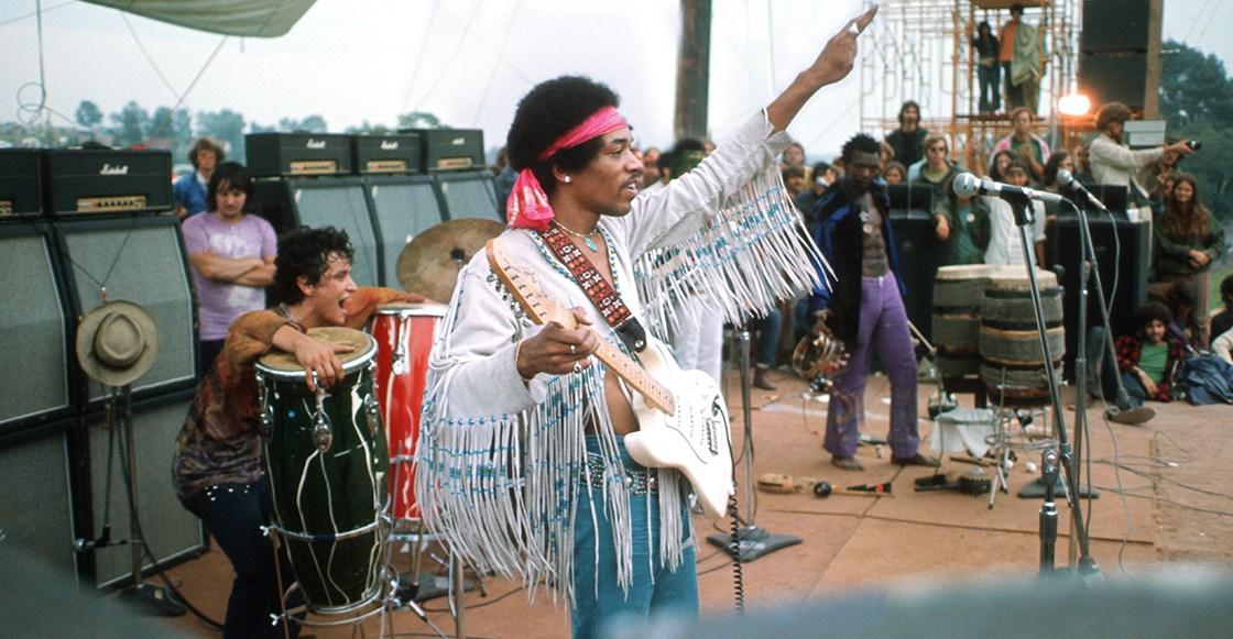 Fender lanza versión limitada de la guitarra que usó Jimmy Hendrix ...