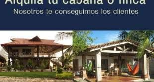 Alquila tu finca o cabaña para turismo y recreación