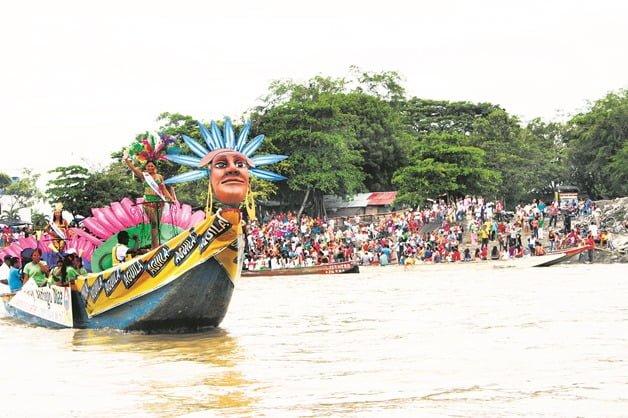 fiestas del rio - Montería-rio sinu