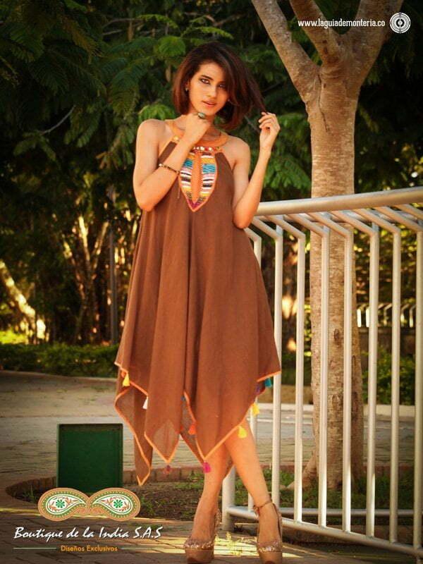 moda hindú en Montería