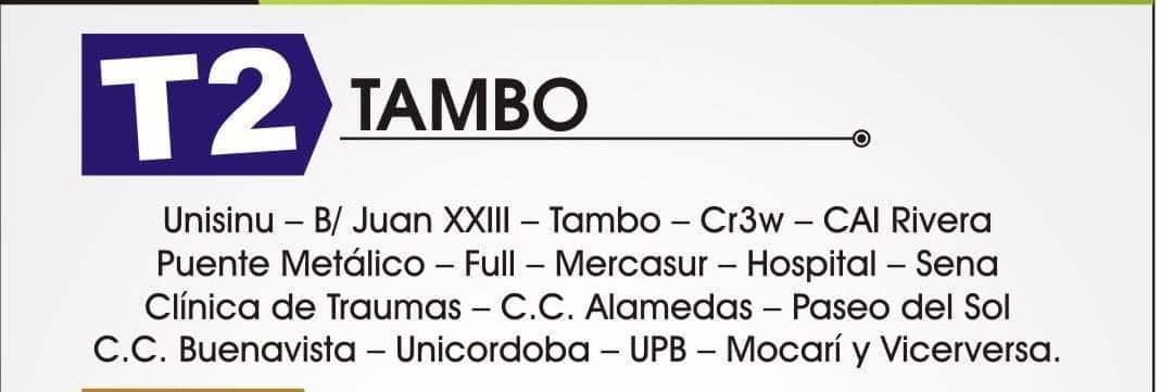 Ruta Tambo