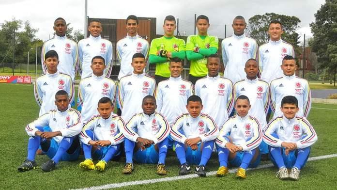 Selección Colombia Sub 15
