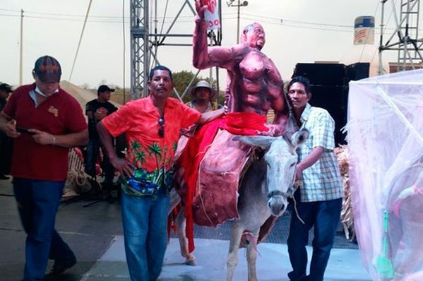 festival del burro en san antero