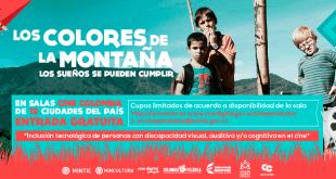 Los Colores de la montaña en Cine para todos