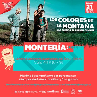 cine para todos: Los colores de la montaña