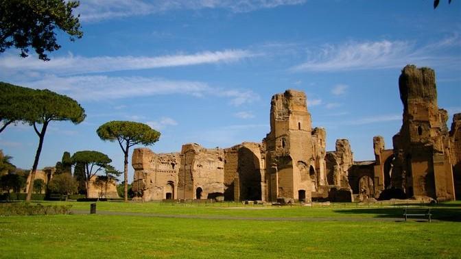 Termas de Caracalla  Roma  La Gua de Viaje
