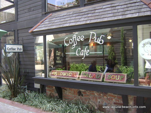 Coffee Pub Laguna Beach Coffee Shop And Restaurant