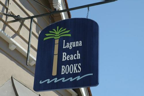 Laguna Beach Books sign