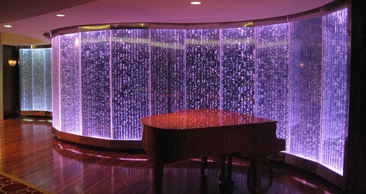 Indoor Bubble Panels, Custom Bubble Walls, Acrylic Water