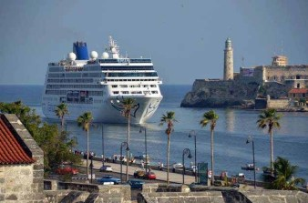 The Adonia in Havana, Cuba