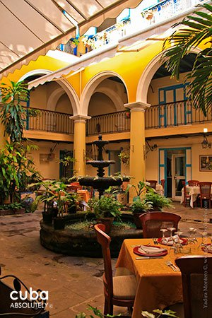 El Patio Casa del Marqus de Aguas Claras  Havana City Guide