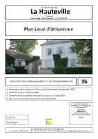 3b. Orientations d'aménagement et de programmation