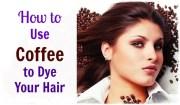 coffee dye hair